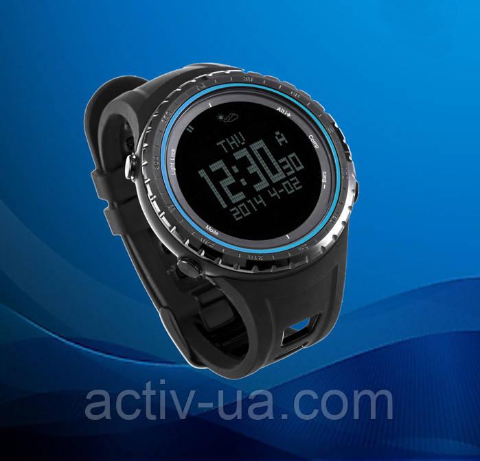 Спортивні годинник SunRoad FR801B – водозахист 5АТМ, барометр, альтиметр, термометр, компас, крокомір. Синій