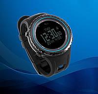 Спортивні годинник SunRoad FR801B – водозахист 5АТМ, барометр, альтиметр, термометр, компас, крокомір. Синій, фото 1