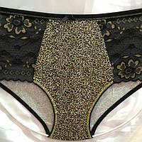 Женские трусы леопарды кружево по бокам