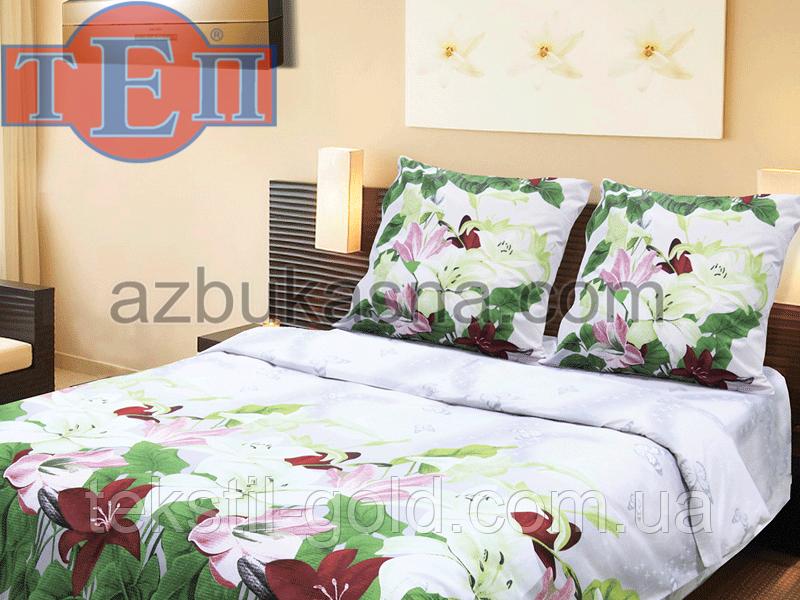 Комплект постельного белья 914 «Санет» ТМ ТЕП (Украина) бязь полуторный
