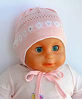 Тонкая шапка для малышей, объем 40-42
