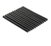 Кератиновые палочки для клеевого пистолета черные 110mm x 7.5mm