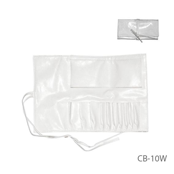 Чехол для кисточек (10 ячеек), белый,Lady Victory LDV CB-10W /5-1