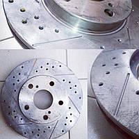 Перфорация и фрезерование тормозных дисков