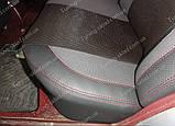 Чехлы на сиденья Мерседес W124 (чехлы из экокожи Mercedes W124 стиль Premium), фото 3