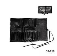 Чехол для кисточек (12 ячеек), черный,Lady Victory LDV CB-12B /5-1