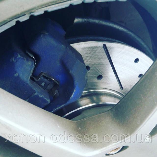 Перфорированные и фрезерованные тормозные диски