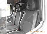 Чехлы на сиденья Мерседес Спринтер W901 (чехлы из экокожи Mercedes Sprinter W901 стиль Premium), фото 6