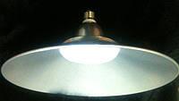 Светодиодная лампа Lemanso LM712 50W E27 6500K IP65 с отражателем серебро Код.58610