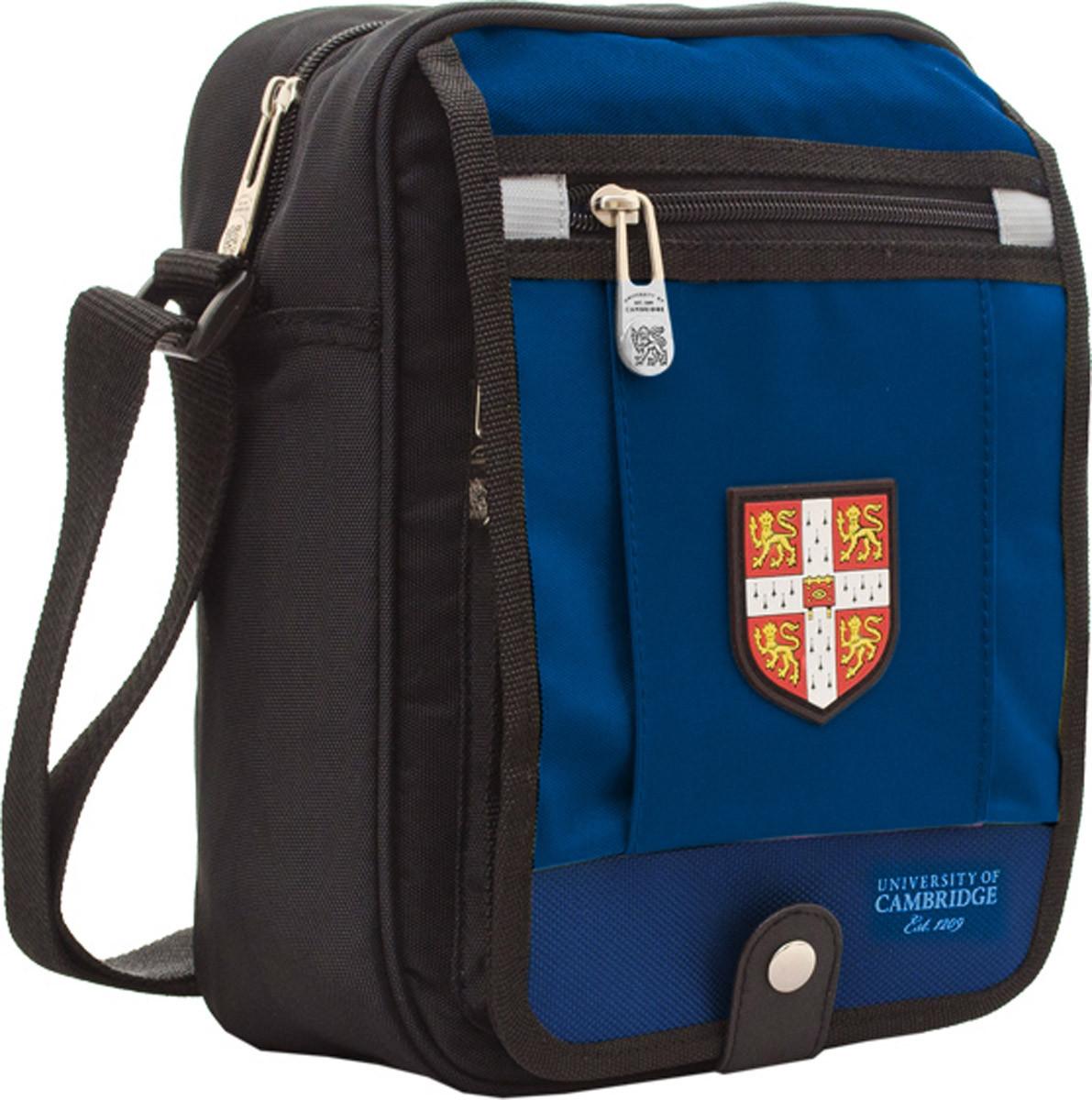 Сумка подростковая Кембридж (Cambridge) синяя CA006