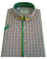 Мужская рубашка с коротким рукавом Т 12-17  7381V1 M 50 / (40)