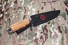 Нож с фиксированным клинком Медведь, фото 2