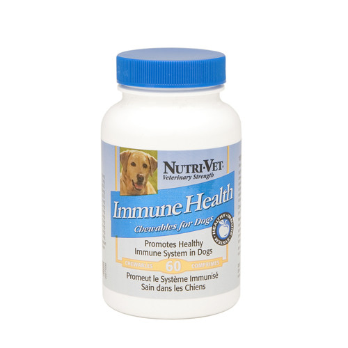 Nutri-Vet Immune Health НУТРИ-ВЕТ ЗДОРОВЫЙ ИММУНИТЕТ иммуностимулятор для собак