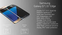 Новый флагманы Samsung Galaxy S7 и Galaxy S7 Edge: дисплей и процессор GPU