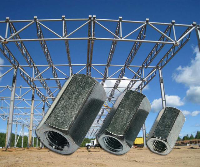 Гайка соединительная высокая DIN 6334 | Фотографии принадлежат предприятию Крепсила