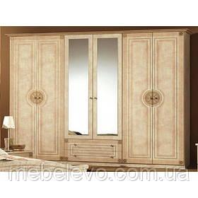 Шкаф Рома 6Д 2240х2670х520мм    Мебель-Сервис