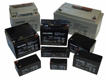 Гелевый аккумулятор 12Вольт, 55 Ач, Challenger G12-55, фото 2