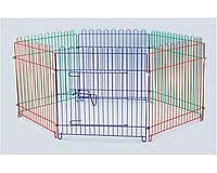Клетка - манеж для щенков Tesoro 3000, 6 секций