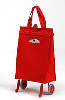 Тележка сумка хозяйственная GIMI Brava (цвет красный)