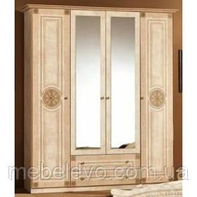 Шкаф Рома 4Д 2240х1780х520мм    Мебель-Сервис