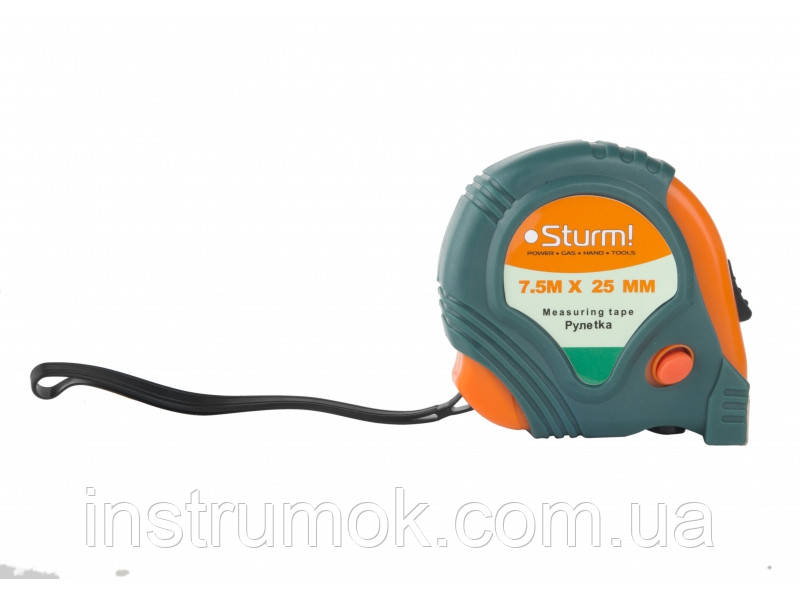 Рулетка измерительная Sturm 7,5 м х 25 мм 2010-01-7-25