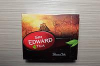 Чай  SIR EDWARD 100 пакет.чорний  140гр 1ящ-12шт