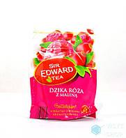 Чай  SIR EDWARD дика роза+малина 25 пакет.50гр 1ящ=4*10 різні
