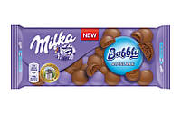 Шоколад Milka Bubbly alpine milk ( пористий молочний ) 90гр. 1п-14шт