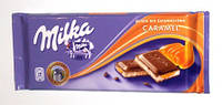 Шоколад Milka Caramel ( з карамелью) 100гр. 1п-18шт