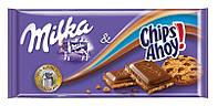 Шоколад Milka Chips Ahoy ( з печивом ) 100гр. 1п-20шт
