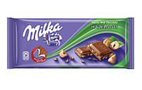 Шоколад Milka Hazelnuts (лісовий горіх) 100гр. 1п-20шт
