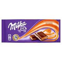 Шоколад Milka Toffe ( тоффі) 100гр. 1п-21шт