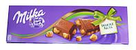 Шоколад Milka Whole nuts (лісовий горіх) 250гр. 1п-12шт