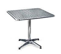 Стол алюминиевый квадратный 80 х 80