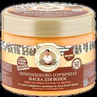 Маска для волос лимонниково-горчичная Био-активатор роста волос РБА, 300 мл