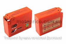 """АКБ   12V 2,3А   гелевый, Suzuki   """"OUTDO""""   (113x39x89, ``таблетка``, оранжевый)"""