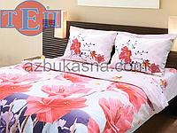 Комплект постельного белья 916 «Лорен» ТМ ТЕП (Украина) бязь Евро