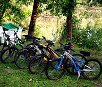 Велопрогулки на базе отдыха Орельский Двор.