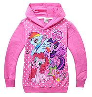 Легка толстовка для дівчаток My little Pony