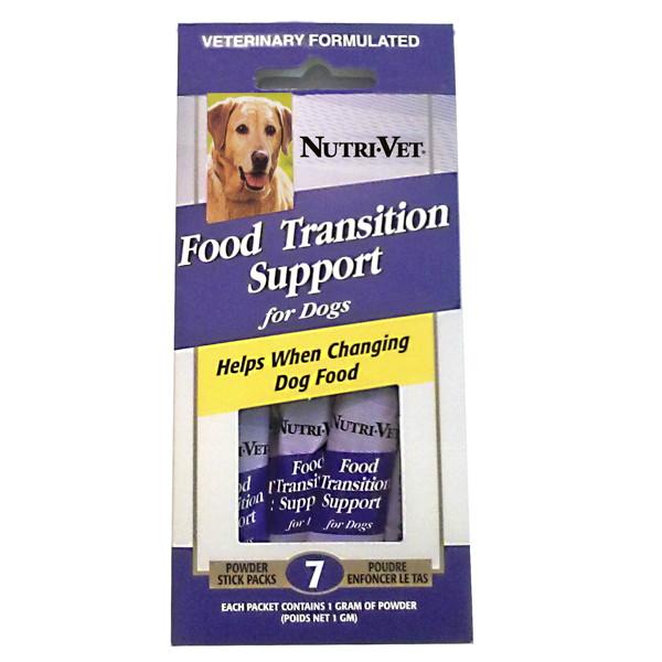 Nutri-Vet Food Transition Support НУТРИ-ВЕТ ПОМОЩЬ ПРИ СМЕНЕ КОРМА  для собак, порошок, стик