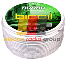 BiCoil кабель коаксиальный RG6U 48W NOVAK