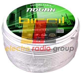 BiCoil кабель коаксиальный RG6U 48W NOVAK - Электро Радио Груп - 1-й магазин электрики и радиоэлектроники в Кривом Роге