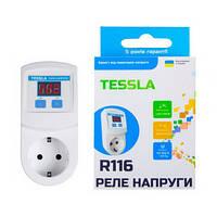 Реле напряжения в розетку TESSLA R116 16A