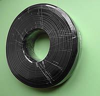 Телефонный кабель 4-х жильный бухта 100 метров, чёрный