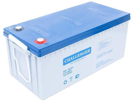 Гелевый аккумулятор 12Вольт, 200 Ач, Challenger G12-200, фото 2