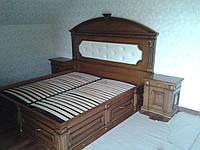 Деревянная кровать Прованс