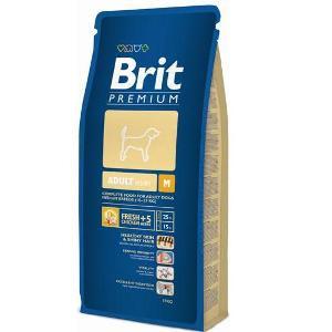 Brit premium adult Medium Брит корм для собак середніх порід 8кг