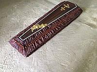Гроб - драпировка шёлк (коричневый) сайт:  Orfey1.com