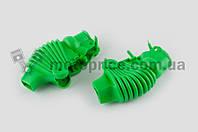 """Пыльники резиновые на ручки выжимные   (универсальные, зеленые)   """"XJB"""""""