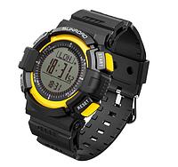Часы спортивные FR820A для туризма (компас, альтиметр, барометр, шагомер..). Водозащита 3АТМ